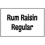 Rum Raisin Regular